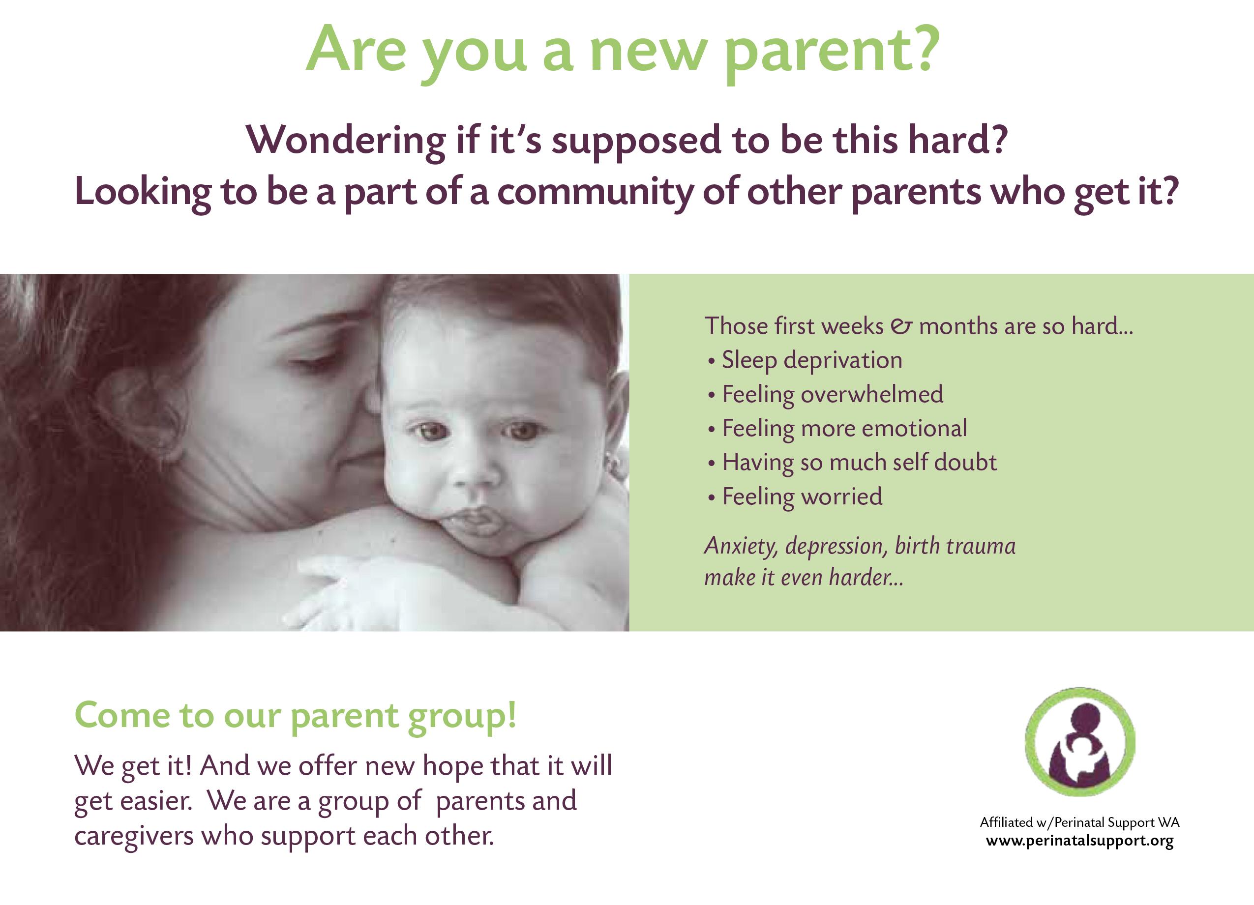 New Parent Groups